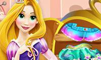Игры Rapunzel Wardrobe Cleaning