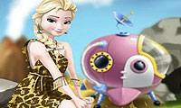 Игры Elsa Time Travel Prehistoric Age