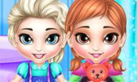 Игры Frozen Sisters: Washing Toys