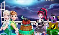 Игры Frozen and Monster High Cake Decor