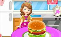 Игры Sofia the First Cooking Hamburgers