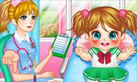 Игры Cute Baby Cold Doctor